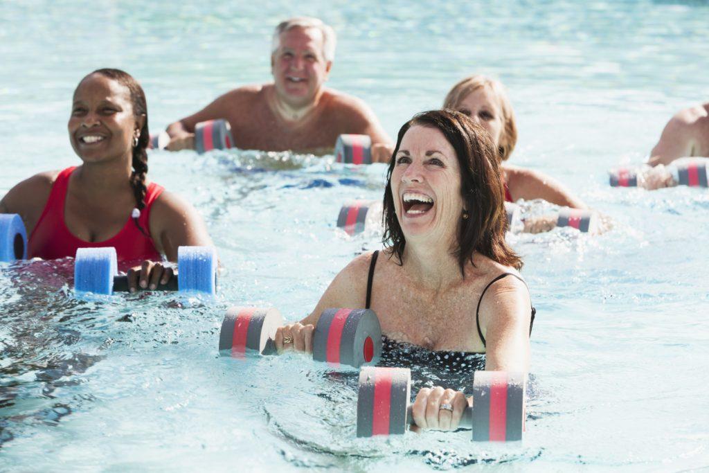 Aquafitness und Aquagymnastik in München